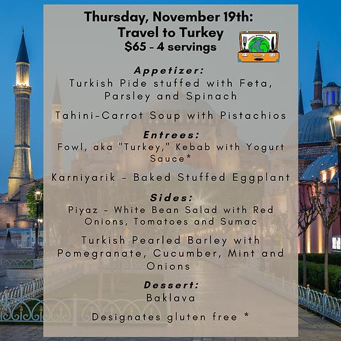 Turkey - Week 3