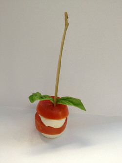 Tomato & Mozzarella Hor D'Oeuvre