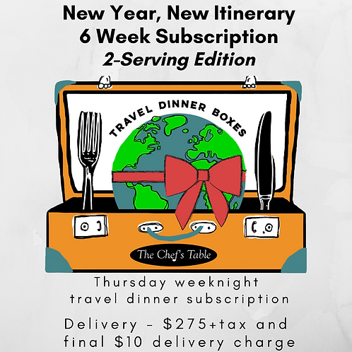 2 Serving: 6-Week New Year Subscription Delivery