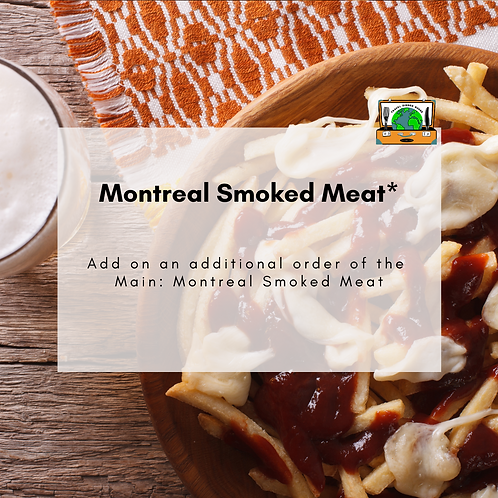 Montreal Smoked Meat - Canada