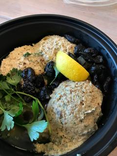 Hummus and Baba Ganoush Platter - Israel