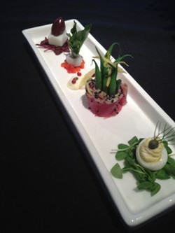 Deconstructed Tuna Nicoisé Salad