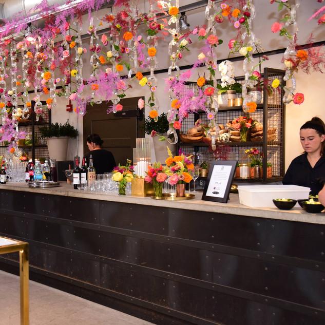 Custom Floral Bar