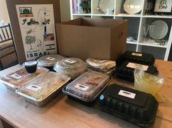 Israel Travel Dinner Box