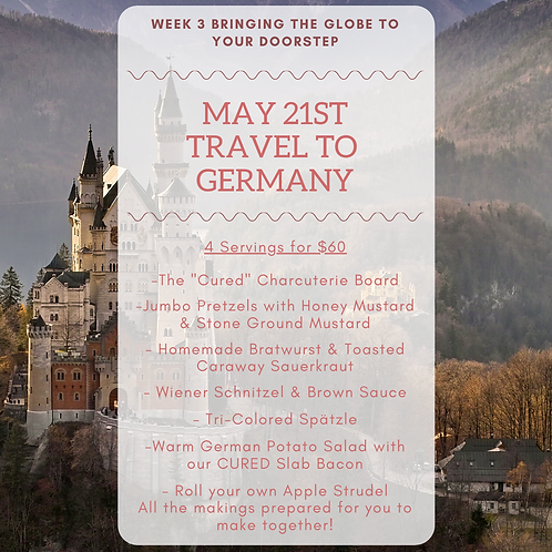 Week 3: Travel to Germany