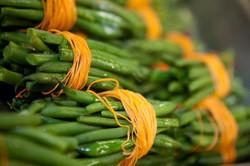 Carrot Wrapped Green Bean Bundles