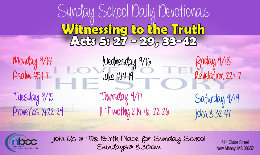 Witnessing to the Truth