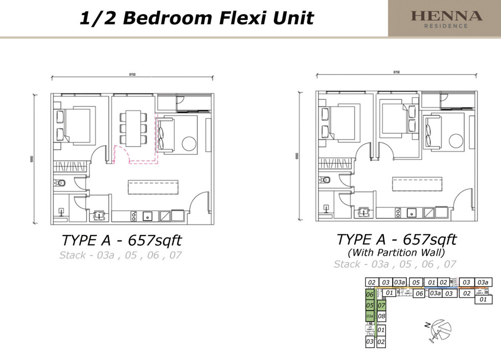 Henna Residence Floor Plan Beverly Group Project