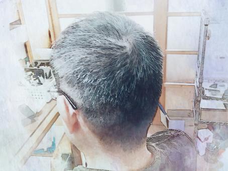 散髪後に頭を洗える気持ちよさ。