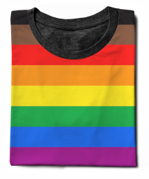 LGBTQ 8-Stripe Pride Flag