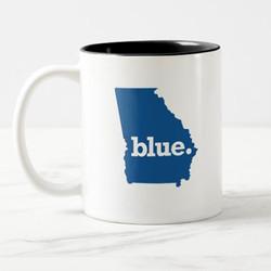 BLUE STATE MUGS