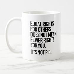 LGBT EQUALITY MUGS