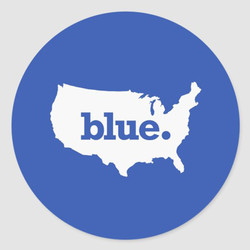 BLUE STATE STICKERS