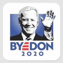 BYE DON STICKERS