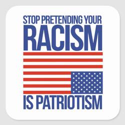 RACISM STICKERS