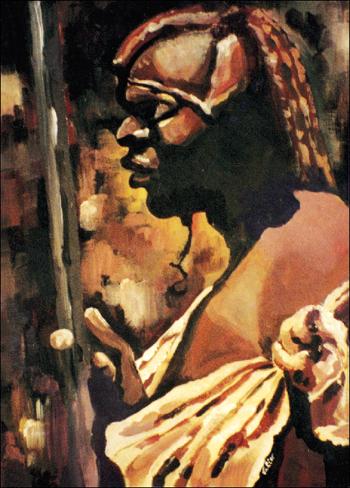 Guerrier Massaï