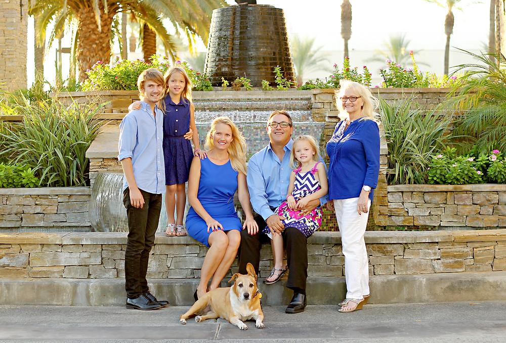 marriott desert springs family photographer
