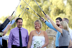 Classic club wedding photographer