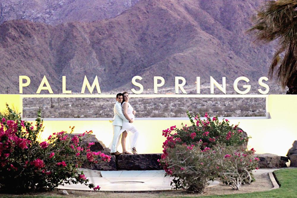 palm springs maternity photographer