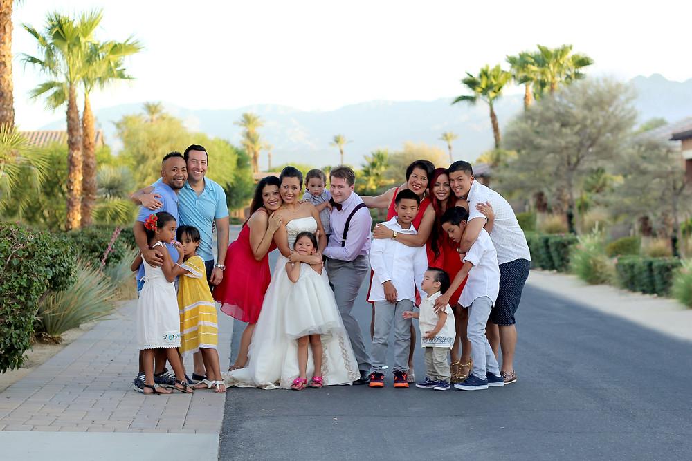 la quinta wedding photography montage wedding