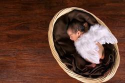 Little Angel Baby Newborn Photo
