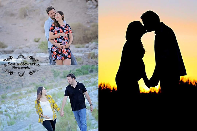 Eric and Renee | Palm Springs Maternity Photography | Whitewater, CA
