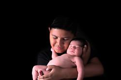 sibling family newborn photographer