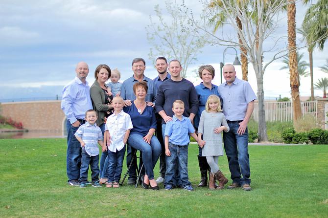 The Lobe Family | Indio Family Photographer