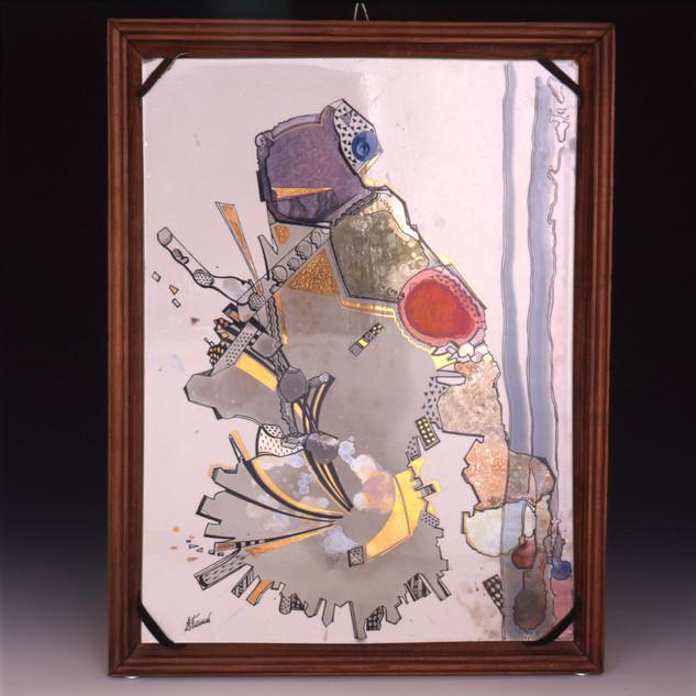 """Dekoratīvs šķīvis """"Pavasaris""""   Декоративная тарелка «Весна»  Decorative plate """"Spring"""""""