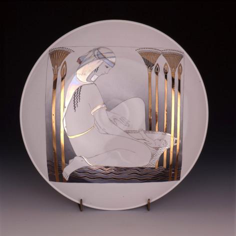 """Dekoratīvs šķīvis """"Mozus""""  Декоративная тарелка «Моисей»  Decorative plate """"Moses"""""""
