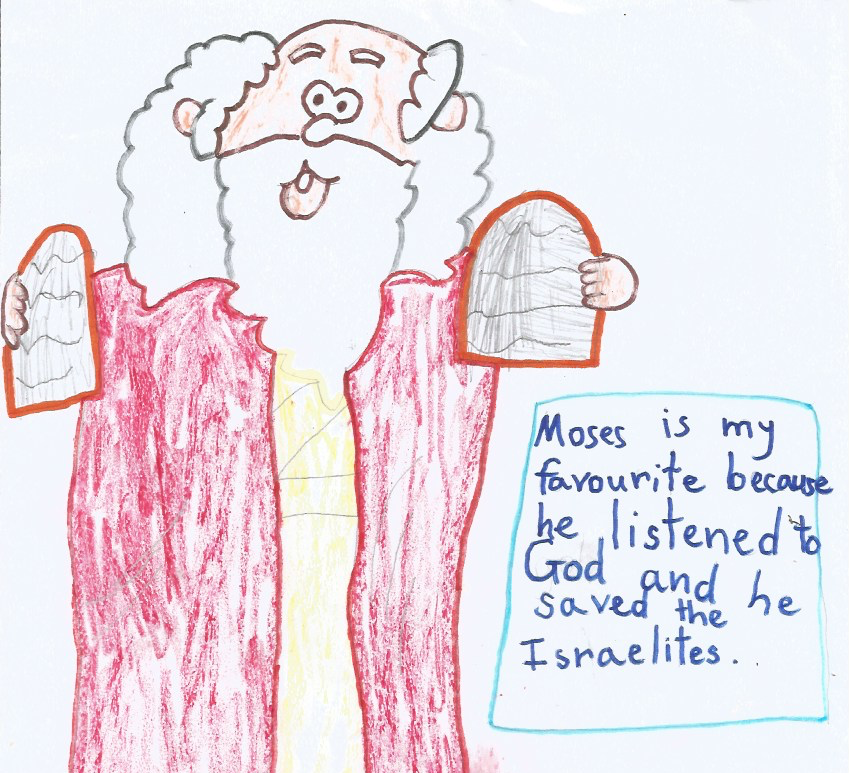 Gianna C (5y)- Moses