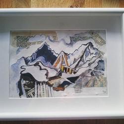 Mountain range study 1