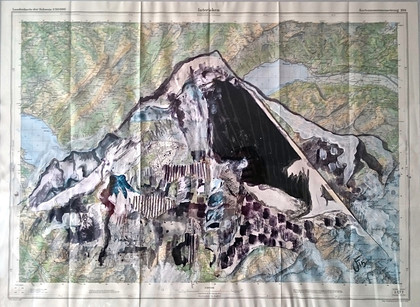 Eiger 2015/6 Private collection 2016 Royal Academy exhibited