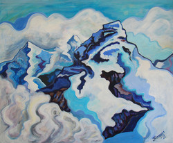 Mountain Range Eiger