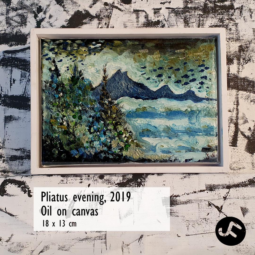 Pilatus in Evening