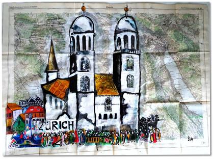 Zurich on the map 2019
