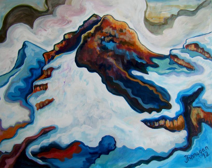 Jungfrau in brown
