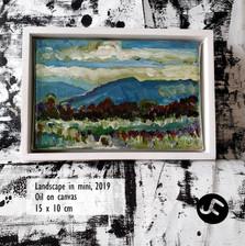 Landscape in mini, 2019