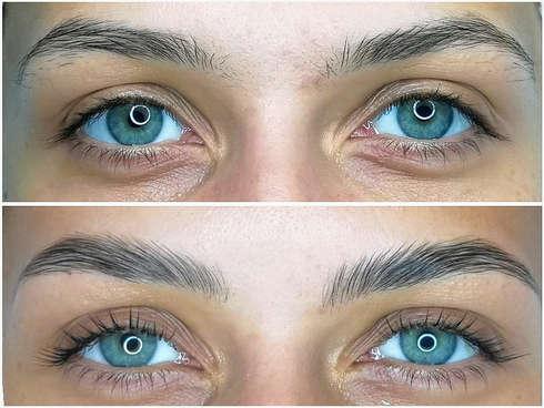 Happy Eyes, Laminare Gene si Sprancene