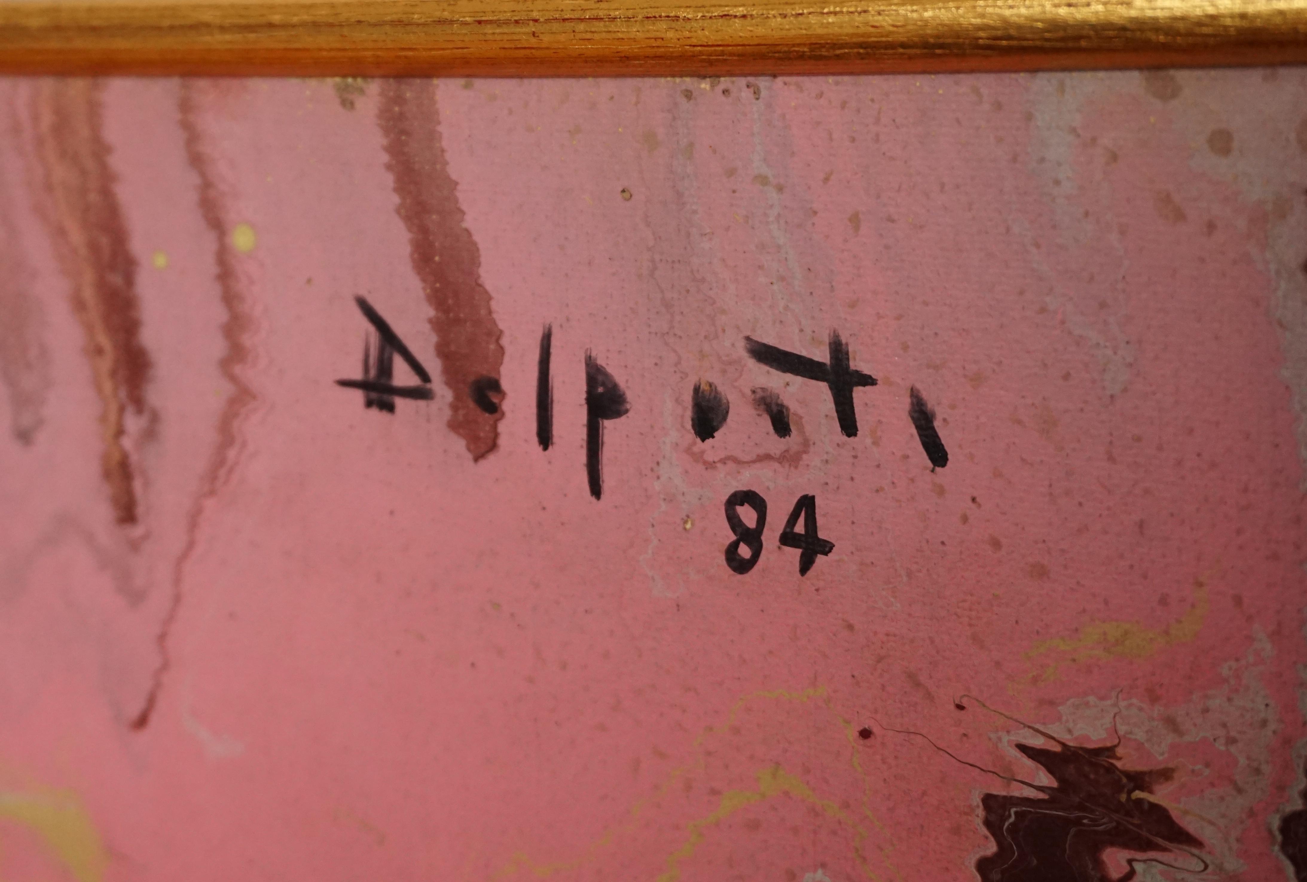 Delporte Charles -  Les deux Amies - 1984 - signature