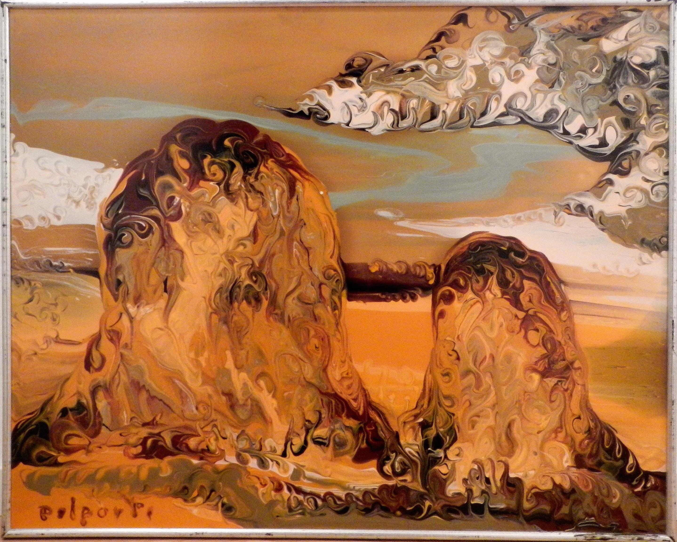 Delporte Charles- Les meules - 1998 - front