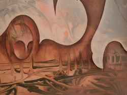 Delporte Charles - Paysage Fantastique - 1976 - detail