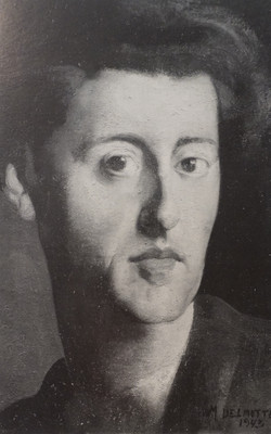 Delmotte - Galery Isy Brachot Paris - Autoportrait 1943