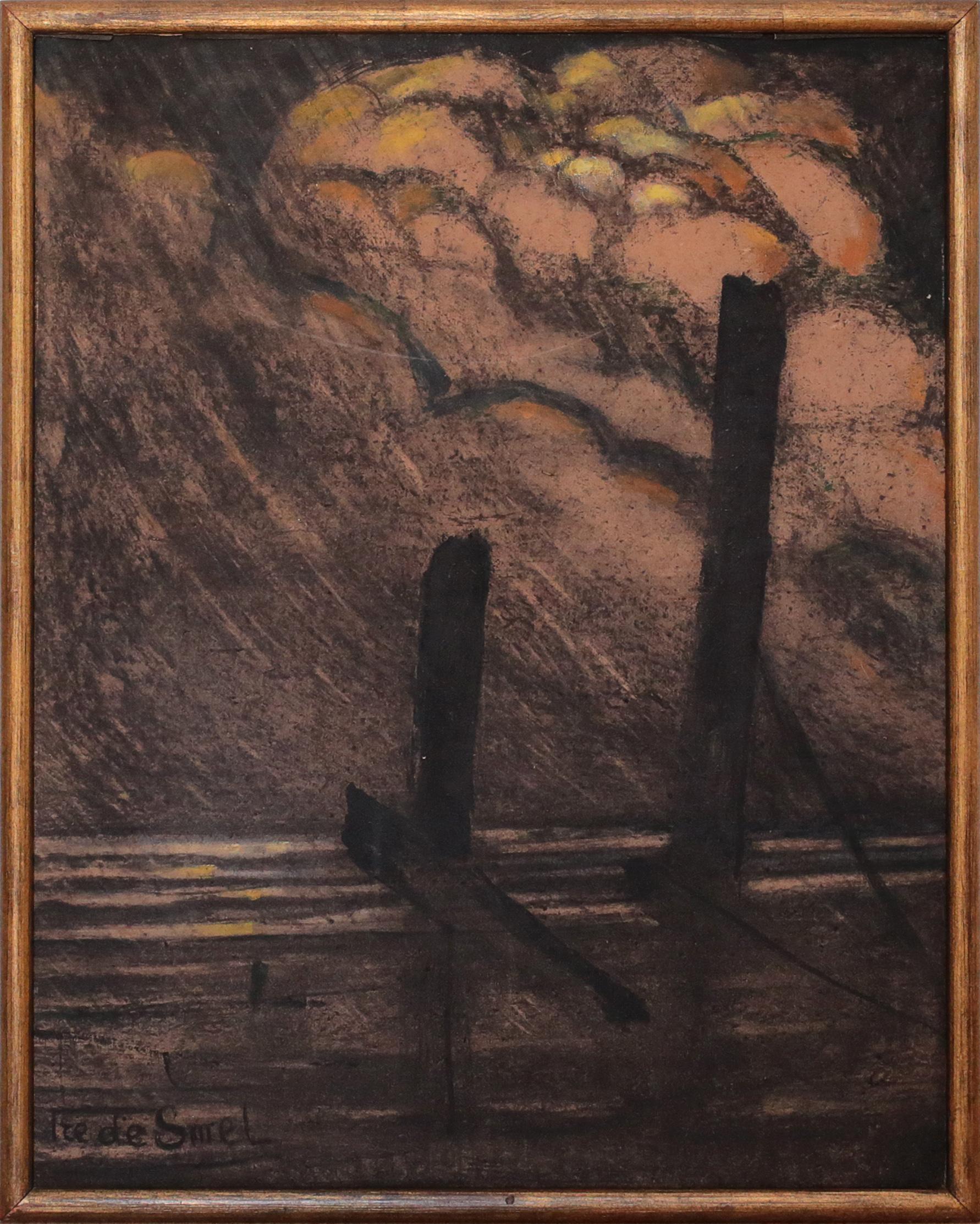 De Smet Frederic - Aan de haven - Gent - front