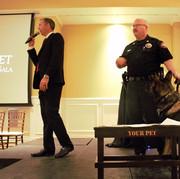 David Coutchie, Sheriff Arnott, K9 Lor.j