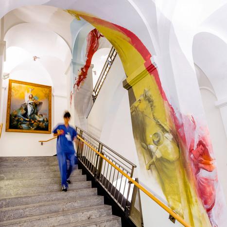 Kunsttreppe K.H. Zum heiligen Geist