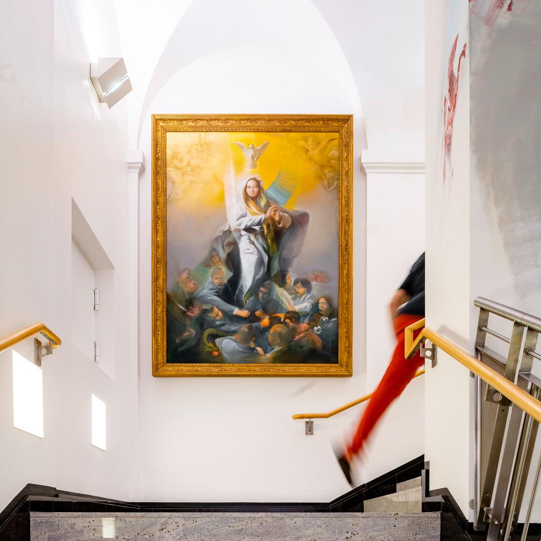 Soloausstellung Kunsttreppe
