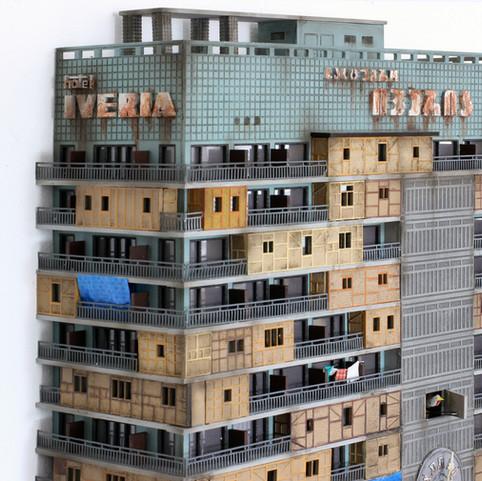 "Cuckoo Block ""Hotel Iveria"""