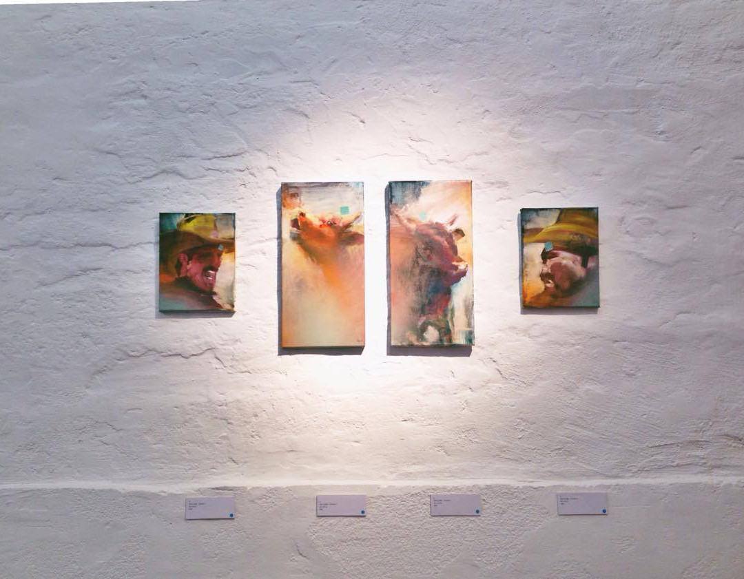 Soloausstellung Galerie Hier&Jetzt