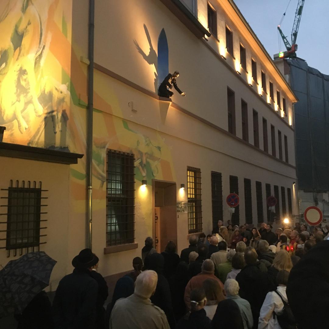 Weihung Wanndbild Liebfrauenkirche